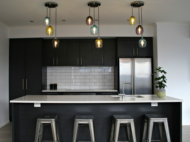 Hobsonville Point New Build Contemporary Kitchen Auckland By Trigg Interiors