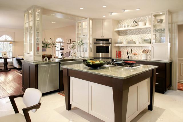 Center Hall contemporary-kitchen
