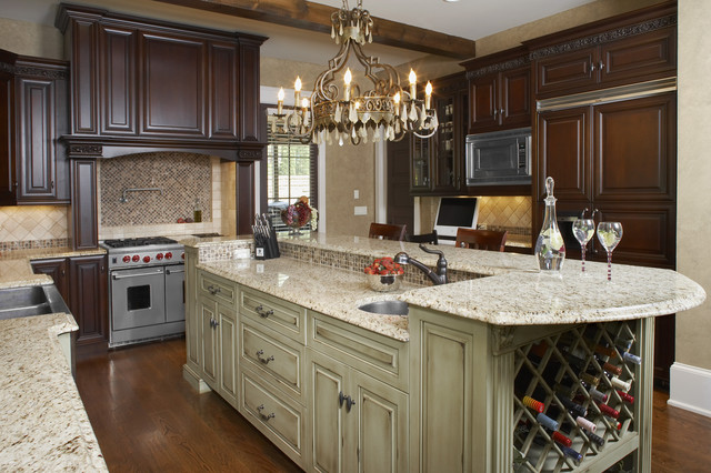 Holden Estates traditional kitchen
