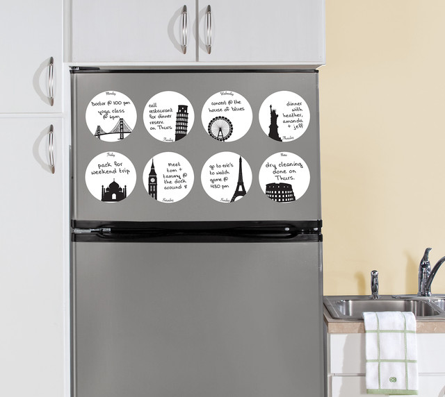 Holiday Dots Dry-Erase Wall Decals by WallPops kitchen