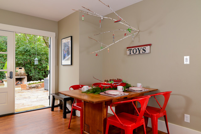 Holiday Home Tour 2012 eclectic-kitchen