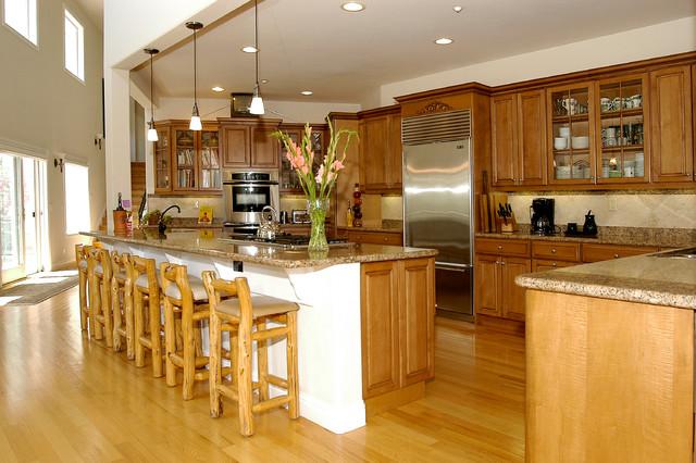 Hollins Estate House, Pasatiempo traditional-kitchen