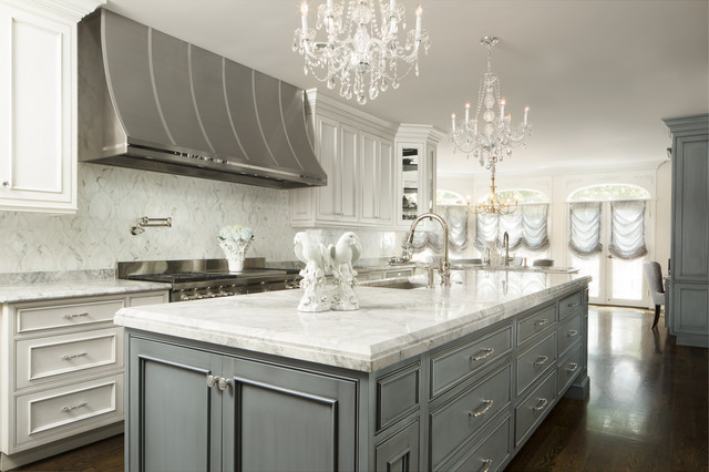 Hollywood Glam Traditional Kitchen Chicago By Joey