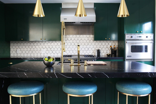 Jewel Tones - Kitchen