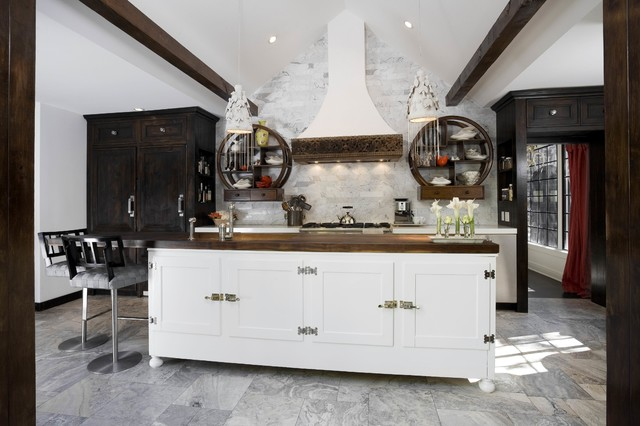 Hollywood Hills High Tower Eclectic Kitchen Los Angeles By Naomi Kobrin A D