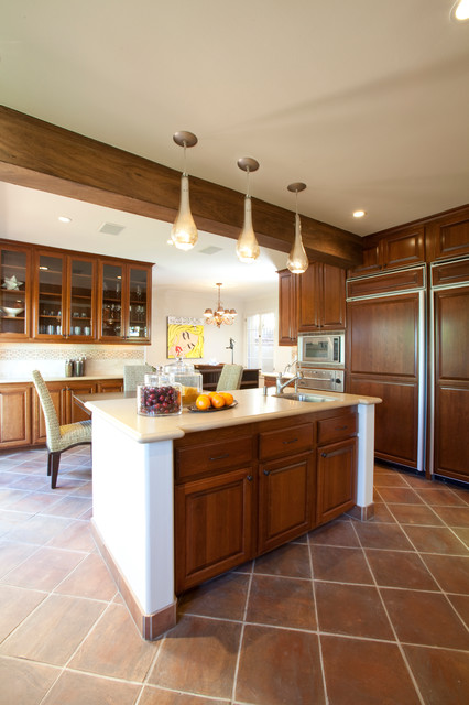 traditional kitchen by Laura U, Inc.