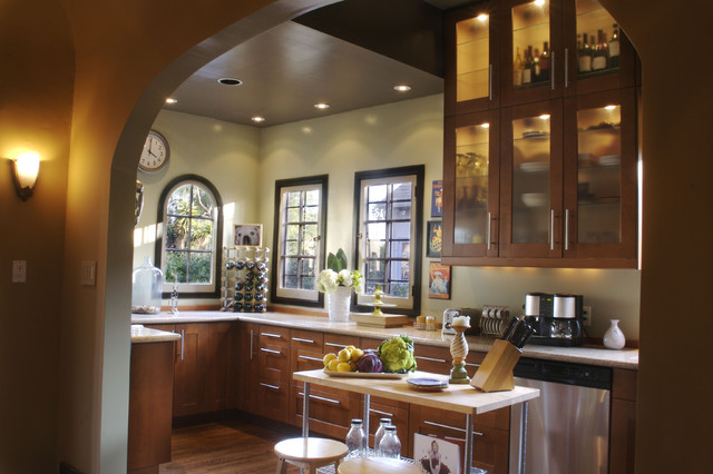 Hollywood contemporary-kitchen