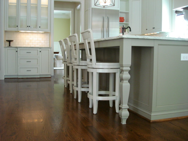 Holz Residence - Traditional - Kitchen - charlotte - by Hardwood Creations