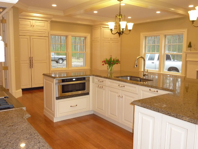 Home in Concord traditional-kitchen