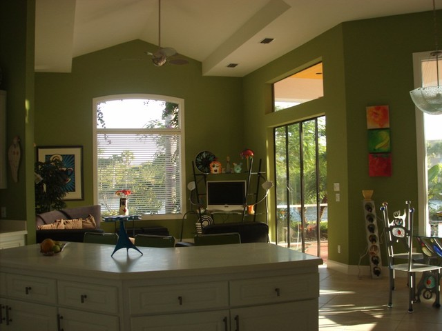 Home In Naples Florida Modern Kitchen Kansas City By Acquired Taste Interior Design