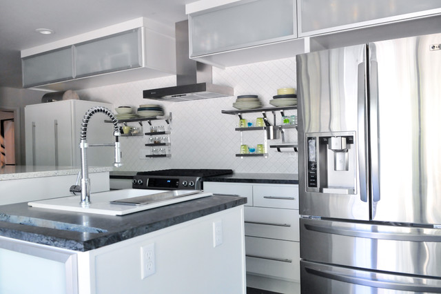 Home Remodel Designed and Built by Sett Studio contemporary-kitchen