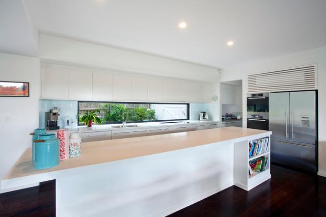 Home Renovation Bardon Brisbane Modern Kitchen Sunshine Coast By Unique Builders Of