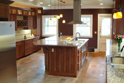 Cabinets Kraftmaid Stain Color