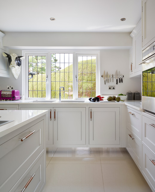 Home Transformation Transitional Kitchen Hertfordshire By Moneyhill Interiors