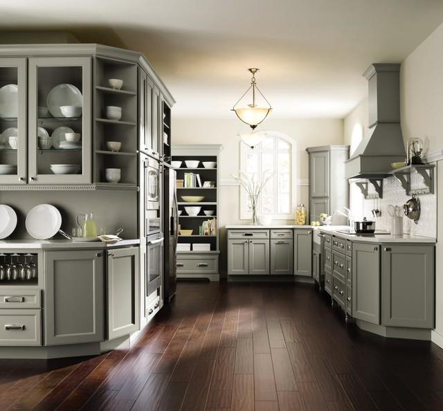 Kitchen Cabinets Inc: Homecrest Brenner Maple Willow Kitchen