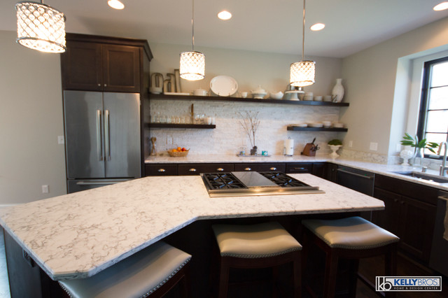Homecrest Buckboard New Construction Transitional Kitchen Cincinnati By Kelly Brothers