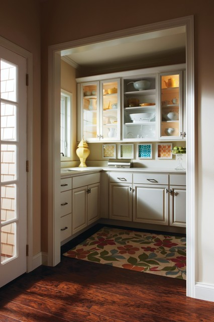 Homecrest Ogilby Butler Pantry Cabinets - Dining Room - other metro - by MasterBrand Cabinets, Inc.