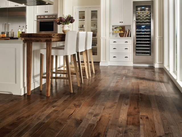 Homerwood Hardwood Flooring rustic-kitchen