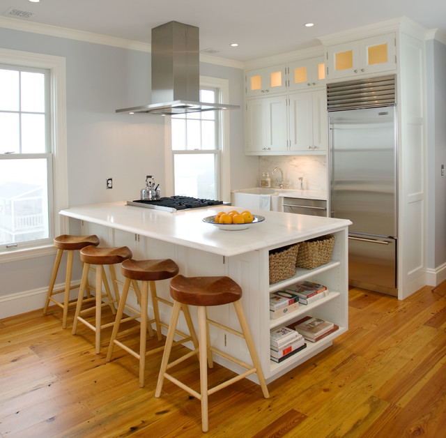 Small Traditional Kitchen homes - traditional - kitchen - portland maine -mark rockwood