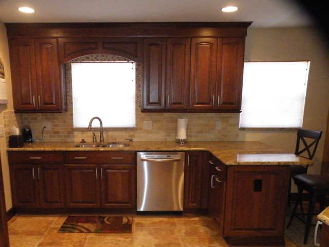 Homespaces photos traditional-kitchen
