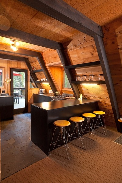 Homewood Midcentury Kitchen Sacramento By Popp Littrell Architecture