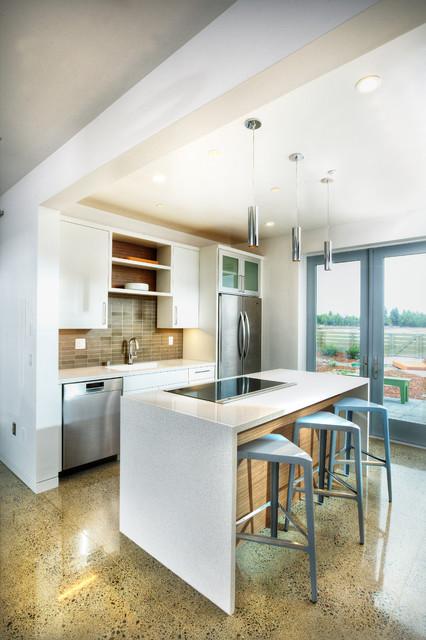 Honda Smart Home Us Contemporary Kitchen Sacramento By Mak Design Build Inc