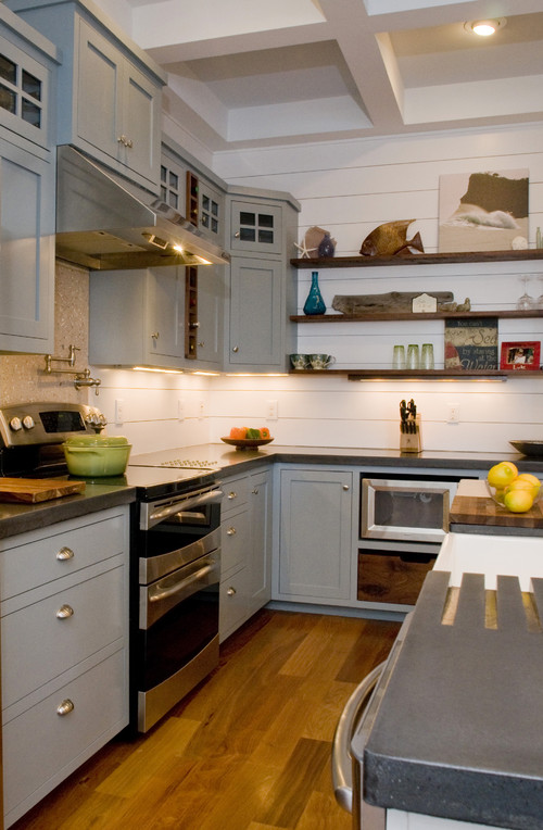 Love This Kitchen! What Is The Backsplash/wall? Wood Paneling? Did .