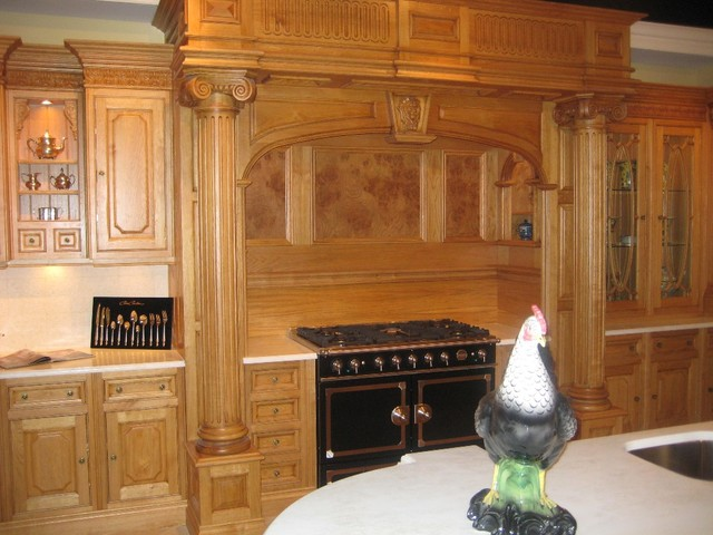 Honey Oak Kitchen Traditional Kitchen Dc Metro By
