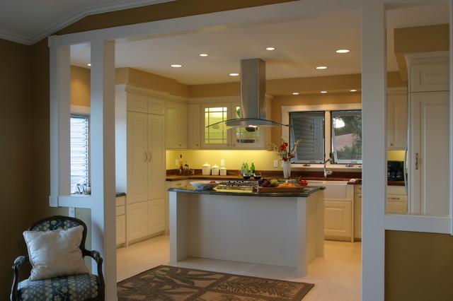 Honolulu white contemporain cuisine hawaii par for Archipelago hawaii luxury home designs