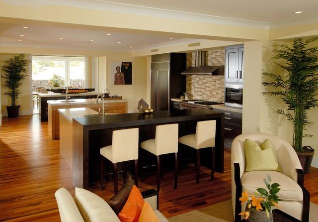 Honua contemporary-kitchen