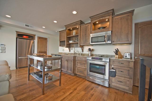 Hood Canal Residence modern-kitchen
