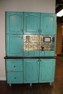 Hoosier Cabinet Reproduction - Farmhouse - Kitchen - edmonton - by Delton Cabinets