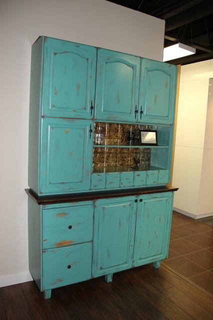 Hoosier Cabinet Reproduction Farmhouse Kitchen