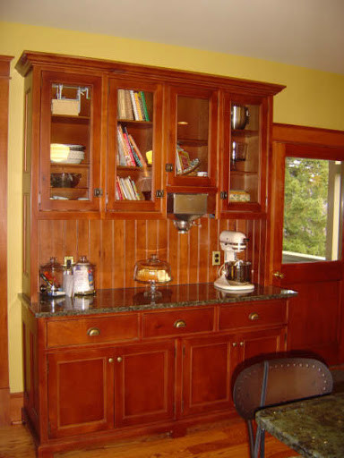Hoosier style hutch - Traditional - Kitchen - philadelphia - by ...