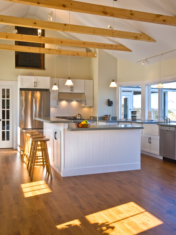 Hope Farm - Traditional - Kitchen - Portland Maine - by ...