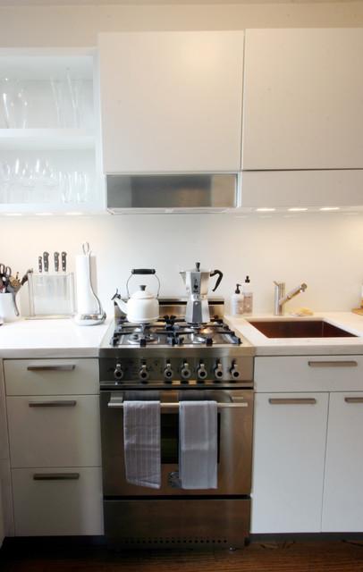 Horatio Street Studio contemporary-kitchen