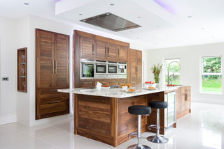 Horizon Walnut Contemporary Kitchen Other By The Design Yard