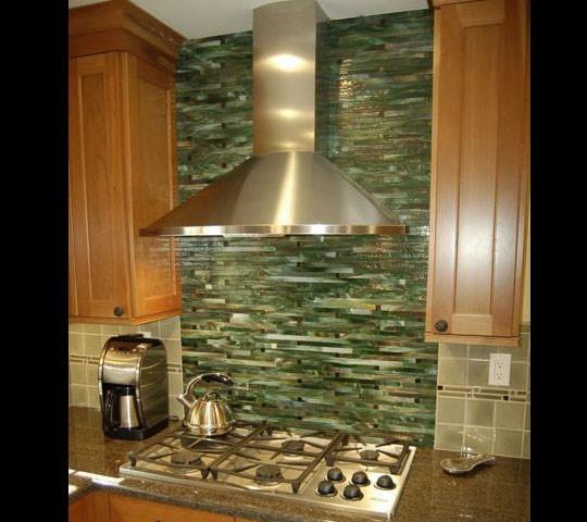 Top 28 bamboo backsplash bamboo backsplash 28 images for Elegant horizontal glass tile backsplash