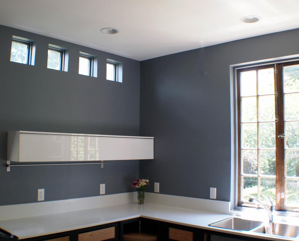Kitchen - modern kitchen idea in Other