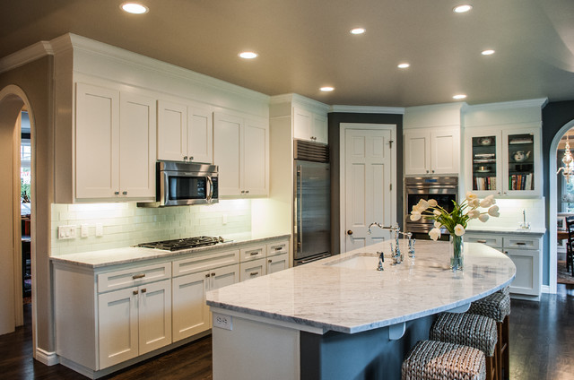 Houghton Remodel - Traditional - Kitchen - seattle - by Kristi Spouse Interiors