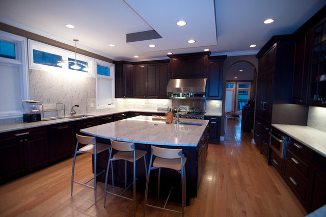 Houlihan Cabinet Refacing Project - Modern - Kitchen - chicago - by Best Cabinets