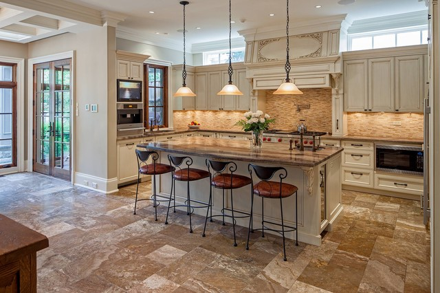 House 16 American Traditional Kitchen Toronto By Peter A Sellar Architectural Photographer