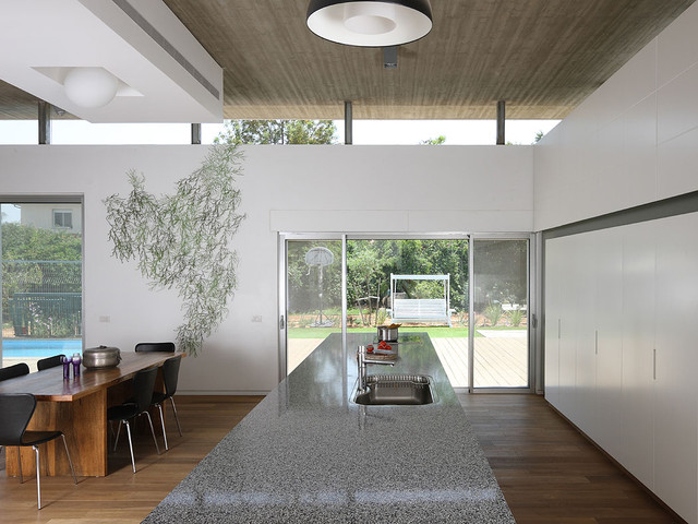 house A contemporary-kitchen