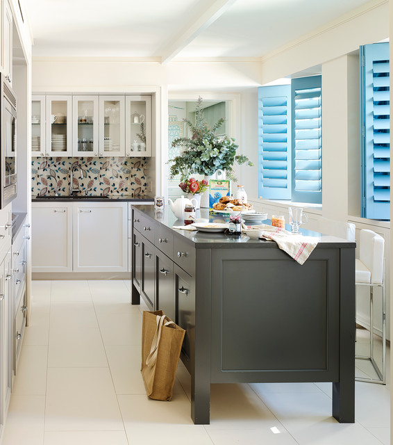 House Beautiful Kitchen Of The Month Transitional
