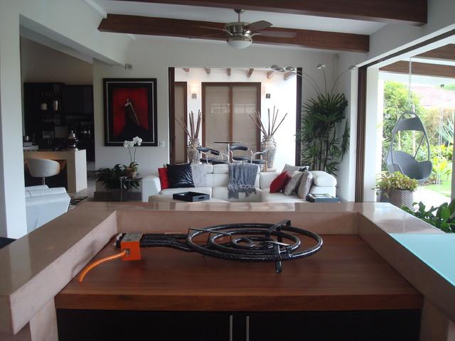 House, Bosques de Lindora. Costa Rica contemporary-kitchen
