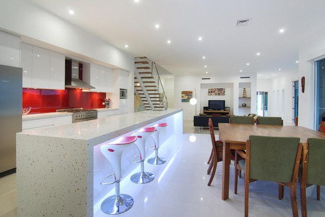 House Designs - interior areas - modern - kitchen - brisbane - by