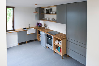 House Extension And Refurbishment Contemporary Kitchen