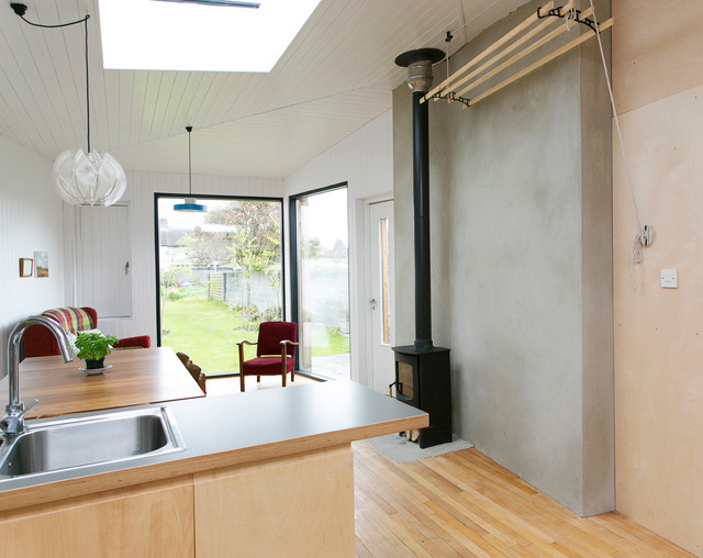 House Extension Dublin 6w Transitional Kitchen Dublin By Bright Design Architects