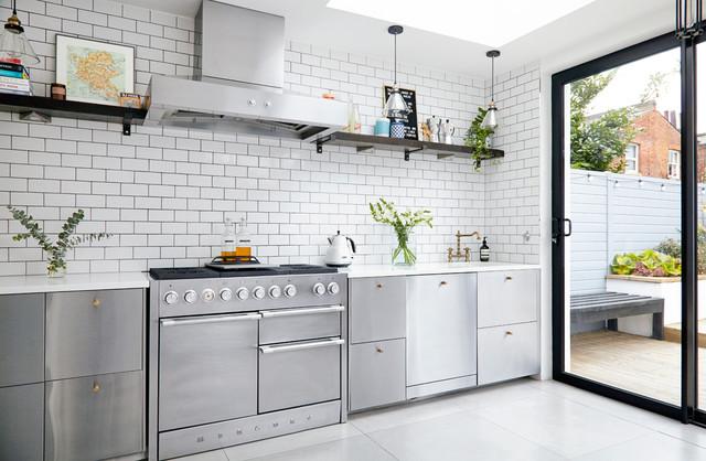 House For Shaw Interiors Scandinavian Kitchen London
