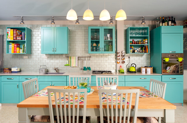 House in Kfar Tavor eclectic-kitchen